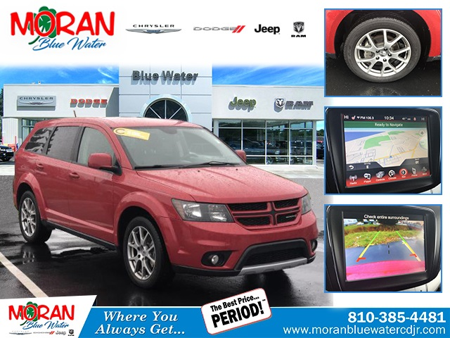 2016 Dodge Journey >> Certified Pre Owned 2016 Dodge Journey R T With Navigation Awd