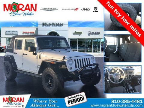 Certified Pre-Owned 2017 Jeep Wrangler Unlimited Sport S